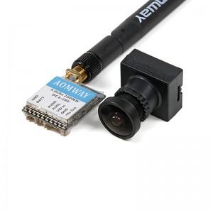 ارسال تصویر AOMWAY MICRO V2 200MW 32CH 5.8GHZ + دوربین 700TVL CMOS HD