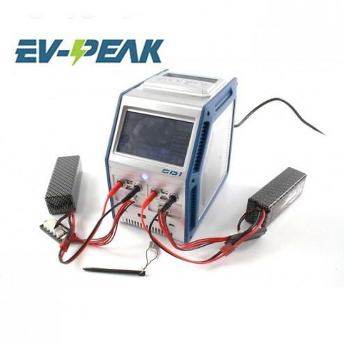 شارژر دوبل 500X2وات DC و 300X2وات AC سی آمپر 6-1سل EV-Peak SD1