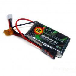 باتری  800mAh 7.4 V 2S1P 15C