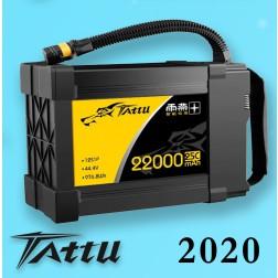 باتری لیتیوم پلیمر Tattu 12S 22000mah 44.4V 25C