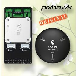 فلایت کنترل + CUAV Pixhack V5 همراهGPS