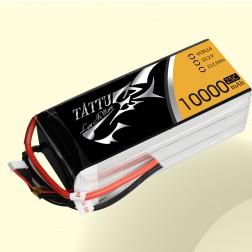 باتری  Tattu 10000MAH 22.2V 25C 6S1P Lipo