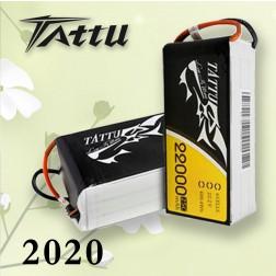 باتری 6 سل  tattu 22000 mAh 25c