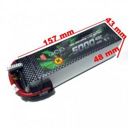 باتری Gens Ace 5000mAh 45C 22.2V 6S1P