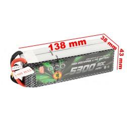 باتری Ace 5300mAh 30C 14.8V 4S1P