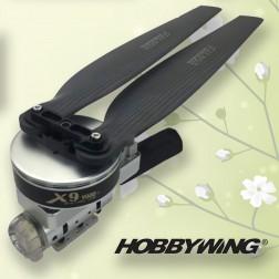 Hobbywing X9 Motor XRotor PRO  120A FOC ESC 34.7 inch Propeller موتور براشلس+اسپیدکنترل+ملخ+پایه موتور