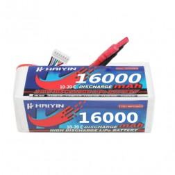 باتری لیتیوم پلیمر شش سل 16000.6S.10