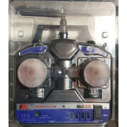 رادیو کنترل FlySky FS-T4B 4CH 2.4GHz + گیرنده 4CH