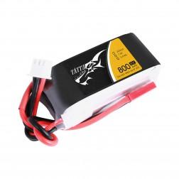 باتری لیتیوم پلیمر 800mAh 45C 5.9V 2S1P FPV