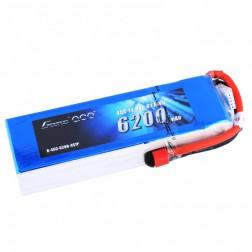باتری لیتیوم پلیمر 4 سل tattu 6200mAh 45c