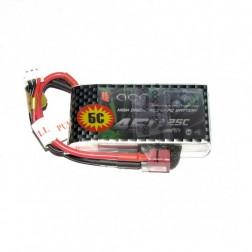 باتری لیتیوم پلیمر  Gens ACE 450 mAh 7.4 V 2S 25C