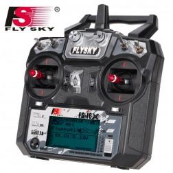 رادیو کنترل FlySky FS-i6X 10CH AFHDS 2A 2.4GHz + گیرنده FS- iA10B iA6B A8S X6B RC