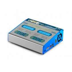 شارژر دوتایی 100وات 10آمپر 6-1سل  Ev-Peak CD1-XR AC/DC