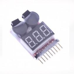 نمایشگر و آلارم ولتاژه باتری