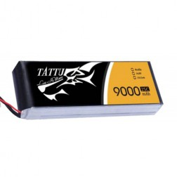 باتری 4 سل  tattu 9000mAh 25c
