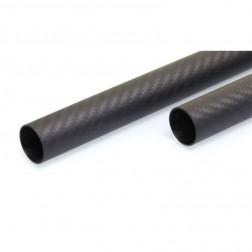 لوله کربن 6x4x1000 میلی متر 3k carbon tube