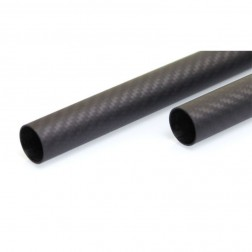 لوله کربن 12x10x1000 میلی متر 3k carbon tube