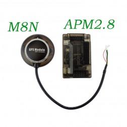 اتوپایلوت Ardupilot APM2.8 به همراه جی پی اس M8N