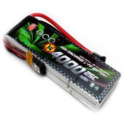 باتری Ace 4000mAh 25C 11.1V 3S1P