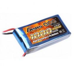 باتری 2 سل 1000mah 25c