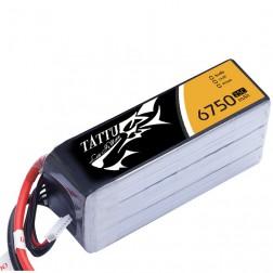 باتری Tattu 6750mAh 25c 14.8V 4S1P