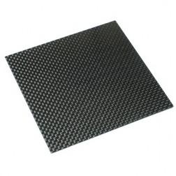 صفحه کربن خالص 500x500x2 میلی متری