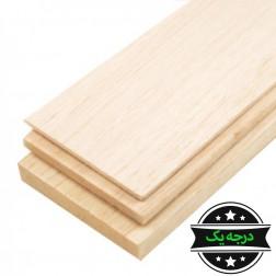 چوب بالسا درجه یک 1000×100×1