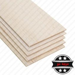 چوب بالسا درجه دو 1000×100×6