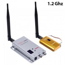 ارسال تصویر 1.2Ghz 1.2G 8CH 1500mw به همراه گیرنده