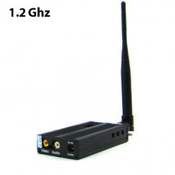 ارسال تصویر FOX-2500 1.2G 3000 meters Long Range Video Wireless A/V Audio Video Sender