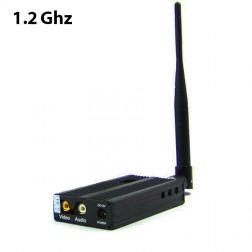 ارسال تصویر FOX-2500 1.2G 3000 meters Long Range Video Wireless A/V Audio Video Sender