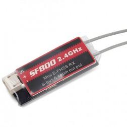 گیرنده 8 کانال SF800 SB 8CH 2.4G Receiver