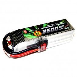 باتری لیتیوم پلیمر 2600mAh 25C 11.1V 3S1P