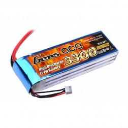 باتری لیتیوم پلیمر 3300mAh 25C 11.1V 3S1P