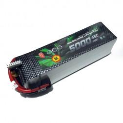 باتری Gens Ace 5000mAh 40C 7.4V 2S1P