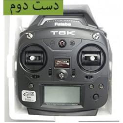 رادیو کنترل Futaba 6K 6CH 2.4GHz کاملا نو با اشکال فنی