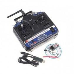 رادیو کنترل 6 کانال مدل CT6B