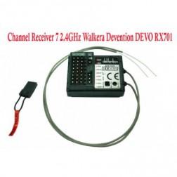 گیرنده 7 کانال رادیو کنترل DEVO7
