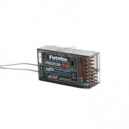 رادیو کنترل گیرنده فوتابا 8 کانال R6208SB