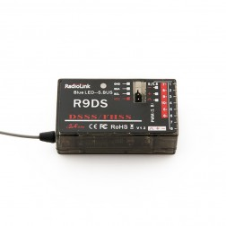 گیرنده Radiolink R9DS 10-CH 2.4GHz DSSS & FHSS