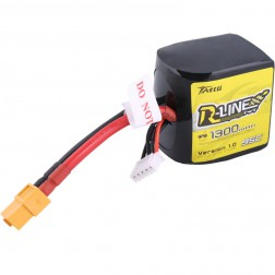 باتری Tattu R-line 1300mAh 14.8V 95C 4S1P for FPV 45C