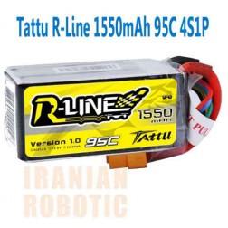 باتری Tattu 1550mAh 14.8V 95C R-LINE