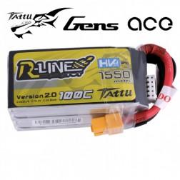 باتری Tattu 1550mAh 100C HV 14.8V 4S1P