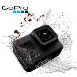 دوربین GoPro Hero 8 Black  سیاه - دوربین اکشن ضد آب با صفحه نمایش لمسی 4K Ultra HD Video 12MP عکس 1080p تثبیت جریان زنده