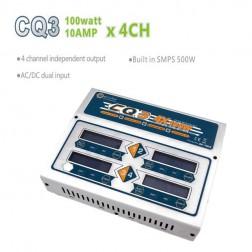 شارژر چهارتایی 100وات 10آمپر 6-1سل  EV-Peak CQ3 AC/DC